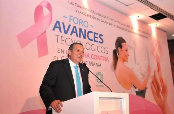 Presidente de la Comisión de Ciencia y Tecnología, diputado Rubén Benjamín Félix Hays
