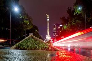 Los monumentos de la Ciudad de México se vistirán en de naranja a favor de los pacientes con Esclerosis Múltiple.