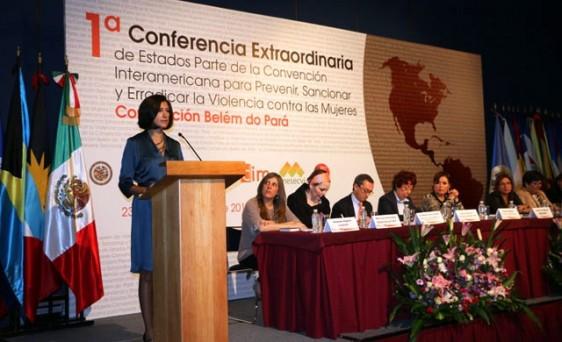 Estado Mexicano reitera compromiso para trabajar de manera coordinada con América Latina  y el Caribe, Lorena Cruz  presidenta del instituto Nacional de las Mujeres de México