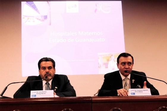 A la izquierda Luis Carlos Zúñiga Durán a la derecha Ignacio Ortiz Aldana