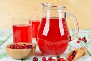 jugo de arándano rojo