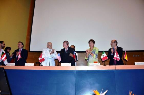 Mikel Arreola, Jesús Kumate, Guillermo Ruiz Palacios, Mercedes Juan y Jesús Toledano Landeros