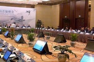 Funcionarios en la reunión mundial de Agencias Sanitarias Reguladoras de Medicamentos