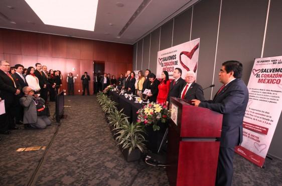 """Funcionarios en el Foro """"Salvando el Corazón de México"""""""