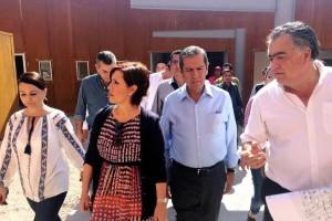 Nuvia Mayorga Delgado, Rosario Robles Berlanga, Rogelio Ortega Martínez; y José Manuel Armenta.