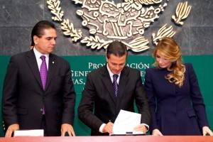 Enrique Peña Nieto, Angélica Rivera de Peña,