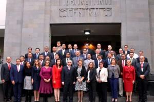 Funcionarios Titulares de los Regímenes Estatales de Protección Social en Salud de pie