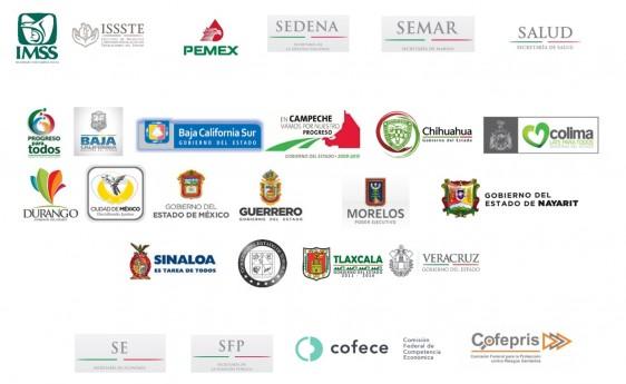 Logotipos de los orgnismos participantes