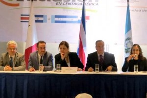 Funcionarios de seis gobiernos de centroamérica