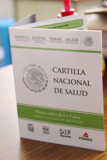 Libreta de la Cartilla Nacional de Salud