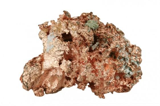 El cobre tiene muchas funcionalidades antimicrobianas.