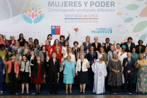 Grupo de mujeres participantes