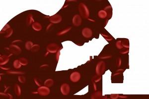 Ilustración de un especialista en hematología