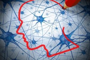 Ilustración de investigación en neurología