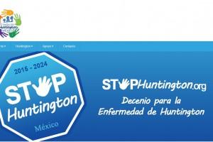 """Logotipo """"STOP HUNTINGTONG"""""""