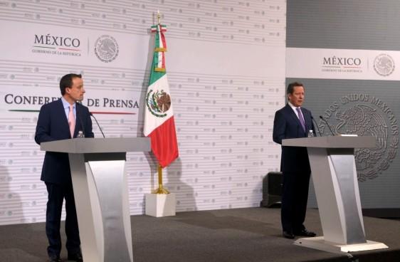 Mikael Arriola y Eduardo Sánchez