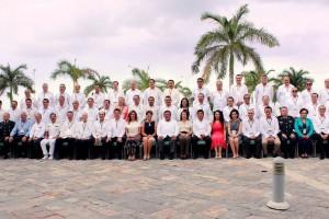 Grupo aistente a la IX Reunión del Consejo Nacional de Salud