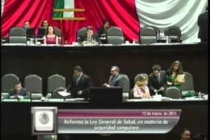 Cámara de Diputados avaló reformas a la Ley General de Salud para fortalecer control y seguridad de servicios de transfusión de sangre