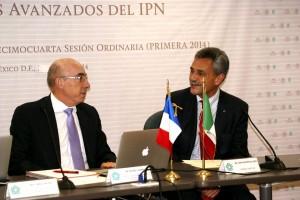 Michel Cosnard y José Mustre de León