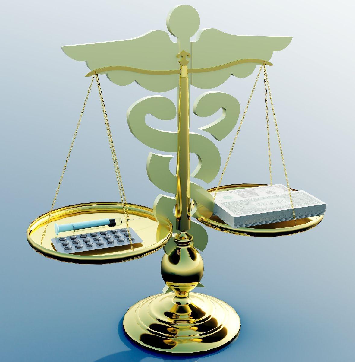 balanza en forma de icono de salud