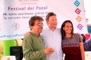 'México no necesita mirar hacia ningún otro lado para resolver el gran problema de obesidad y diabetes que padece, la solución está aquí mismo y es la comida tradicional': Jamie Oliver