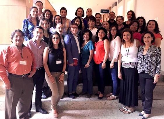 Asistentes a la XII Reunión Nacional de Áreas de Comunicación Social y Difusión de las Instancias de las Mujeres en las Entidades Federativas