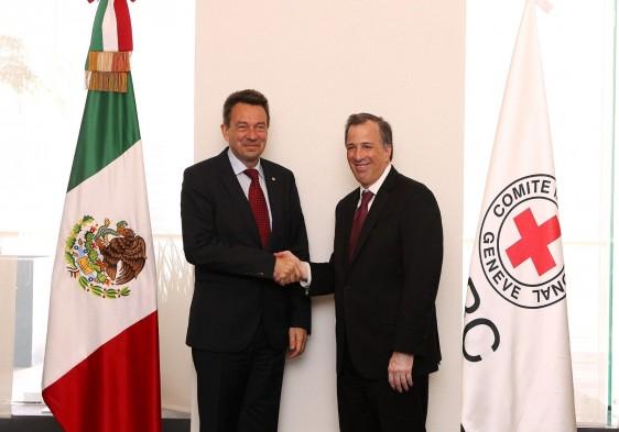 Peter Maurer Y José Antonio Meade