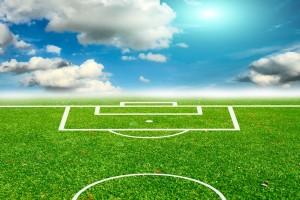 Ilustración de Cancha de fútbol
