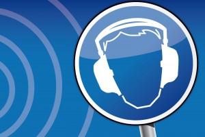Ilustración de protección auditiva