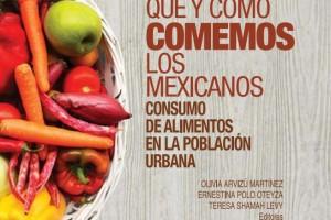 """Portada del libro """"Qué y cómo comemos los mexicanos"""""""