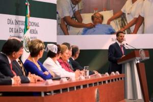 Presidinte y Presidente Enrique Peña Nieto