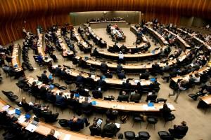 Funcionarios de la Asamblea Mundial de la Salud