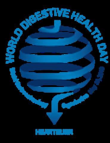 Logotipo del Día Mundial de la Salud Digestiva