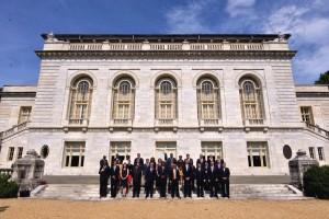 Miembros de la 45 Asamblea General de la OEA