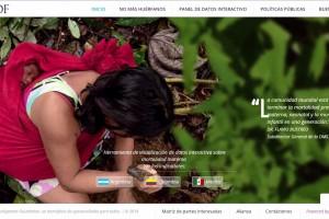 Cpayura de pantalla del sitio nomashuerfanos,org
