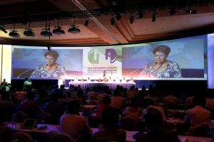 Mercedes Juan en el foro de la 24 Convención de la Industria Farmacéutica