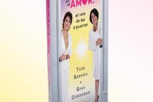 """Portada del libro """"Sanar en el amor: el reto de las 9 puertas"""""""