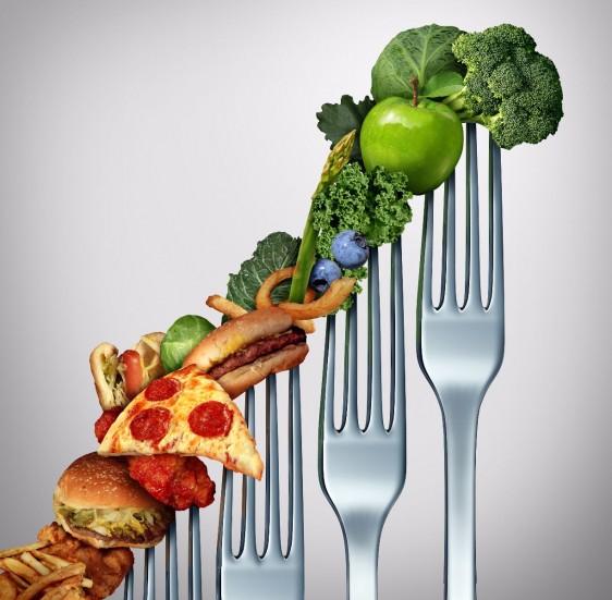 """El problema parece radicar en """"qué es lo que nos falta comer"""" en vez de """"que deberíamos disminuir""""."""