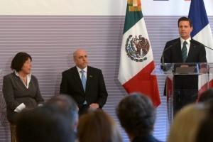 """""""hoy nos une la ciencia, la investigación y todo lo que nos permita generar mayor valor, producción y competitividad a nuestros países, y que realmente eso se traduzca en condiciones de prosperidad y desarrollo para nuestras sociedades"""", Presidente Enrique Peña Nieto"""