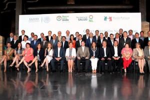 Fotografía de grupo de los participantes en la Quinta Reunión Nacional del Sistema de Protección Social en Salud