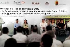 """Es el primer laboratorio en obtener el """"Reconocimiento a la Competencia Técnica 2015"""""""