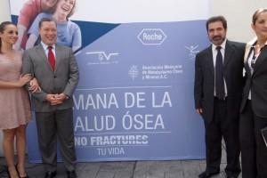 AMMOM y Jefe Delegacional en Benito Juárez, inauguran Semana de  la Salud Ósea, que se realiza del 20 al 25 de agosto en la demarcación.