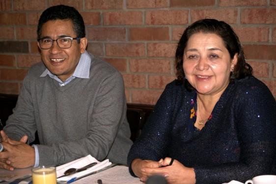 Leopoldo Santos Argumedo y Beatriz Xoconostle Cázarez