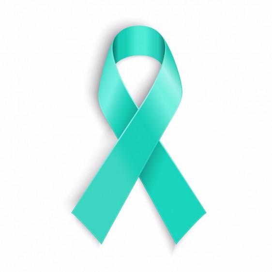 Listón del cáncer del cuello uterino