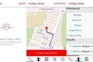 """Aplicación """"Código Infarto"""""""