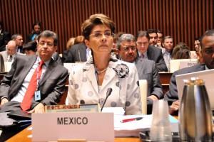 Mercedes Juan en la 53 Sesión del Consejo Directivo de OPS