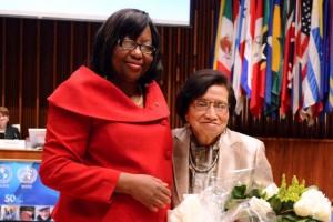 Carissa F. Etienne y María Isabel Rodríguez