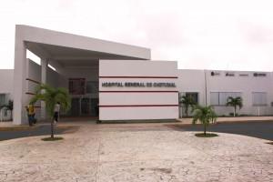 Fachada del Hospital General de Chetumal, Quintana Roo