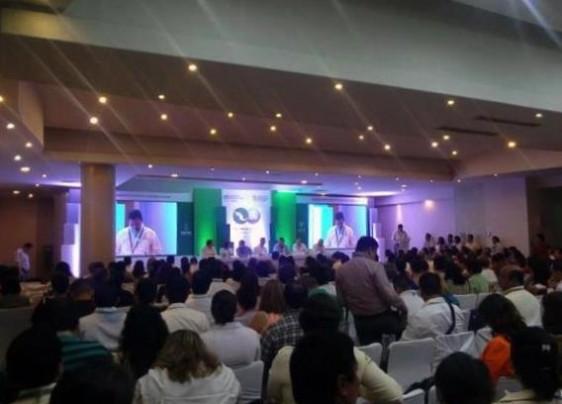 Ceremonia de clausura de la XXII Reunión Nacional de la Red Mexicana de Municipios por la Salud