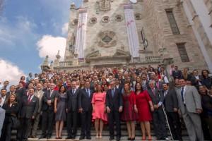 Convoca Miguel Ángel Chico Herrera a trabajar cohesionados por los problemas que enfrenta el continente.Concluyeron los trabajos de la XIV Asamblea General de la Confederación Parlamentaria de las Américas.